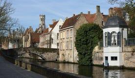 Cartes postales de Bruges Image libre de droits