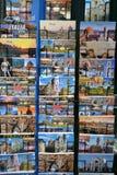 Cartes postales de Florence Image stock