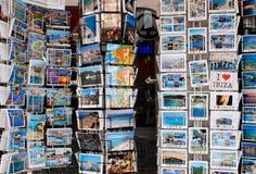 Cartes postales de vacances Photo stock