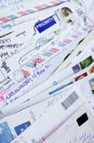Cartes postales des amis Images libres de droits