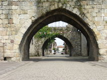 CARTES TOWN IN CANTABRIA Royalty Free Stock Photo