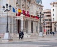 Carthagène, hôtel de ville, Espagne Photo stock
