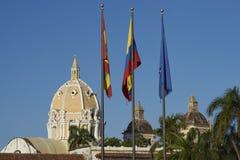 Carthagène historique de Indias en Colombie Image stock