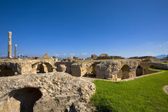 Carthage - the Antonine Baths Stock Image
