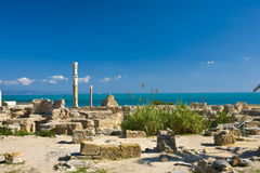 Carthage - the Antonine Baths Stock Images