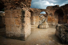 Carthage Antonine Baths Stock Photos