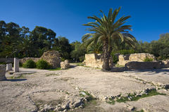 Carthage - Archaeological Park Stock Photos