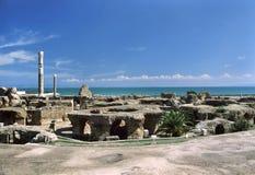Carthage - baños de Antoninus Pius Imágenes de archivo libres de regalías