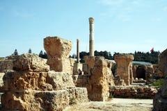Carthage härlighet Arkivbild
