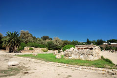 Carthage i Tunisien Arkivfoto