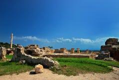Carthage i Tunisien Arkivbilder