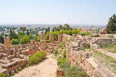 Carthage ruine la Tunisie image stock
