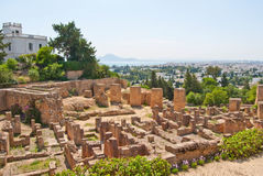 Carthage ruine la Tunisie Photos libres de droits
