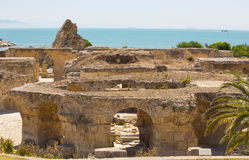 carthage ruiny zdjęcia stock