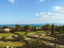 carthago royalty-vrije stock afbeeldingen