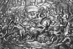 carthago tarcza wzoru Zdjęcie Royalty Free