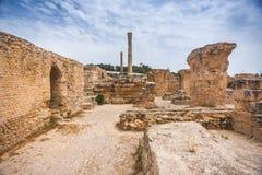Carthago, Tunesië stock foto's