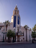 Carthay Circle building at Disney California Adventure Park Royalty Free Stock Image