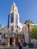 Carthay Circle building at Disney California Adventure Park Stock Photo