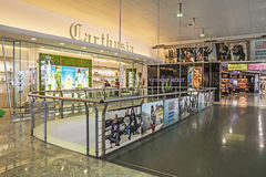 Carthusia Perfume Shop in Capodichino Naples Airport ,Italy. Stock Photos