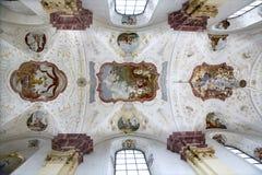 carthusian разыгрыш монастыря поздно стоковое изображение rf