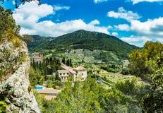 Carthusian Monastery, Valldemossa, Majorca, Spain Stock Photo