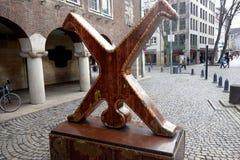Carthweeler das Symbol von Dusseldorf lizenzfreies stockfoto