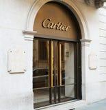 cartier存储 库存照片