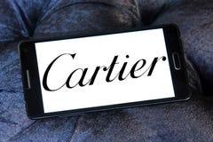Cartier徽标 库存图片