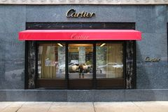 Cartier Stockbild