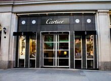 Cartier Boston Boutique, Boston, MA. Royalty Free Stock Photography