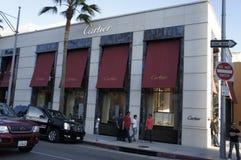 Cartier budynek Zdjęcie Stock