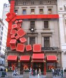 Cartier Christmas Decoration Royaltyfri Foto