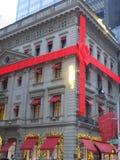 Cartier Christmas decorations royalty free stock photos