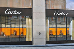 Cartier flagship store Royalty Free Stock Photo