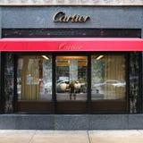 Cartier gatunku sklep obraz stock