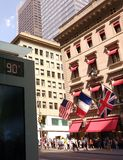 Cartier, heißer 90 Tag der Gradverleihung, neunzig Grade Fahrenheit in New York City, NYC, USA Lizenzfreie Stockfotos