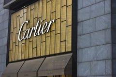 Cartier logo Fotografering för Bildbyråer