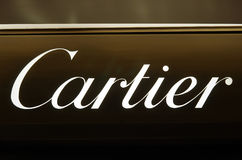 Cartier luxury brand. In Rome, Italy Stock Photos