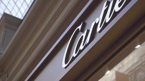 Cartier Outlet Exterior almacen de video