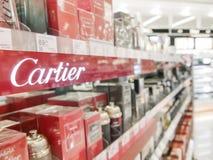 Cartier perfumes Stock Photos