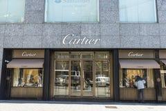 Cartier shop, Barcelona Stock Photos