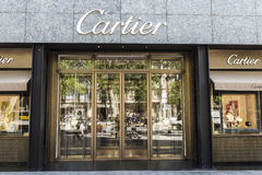 Cartier shop, Barcelona Stock Image