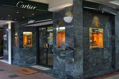 Cartier sklep jubilerski Zdjęcie Royalty Free