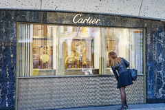 Cartier store Stock Photo