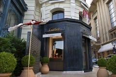Cartier store -Montecarlo Royalty Free Stock Photos