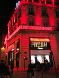 Cartier store Paris Royalty Free Stock Photos