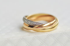 Cartier Trinity Rings 2 Stock Photography
