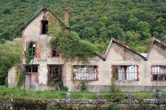 Cartiera abbandonata Fotografia Stock