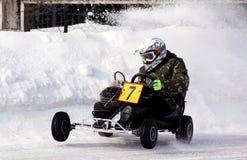 Carting зимы Стоковые Изображения